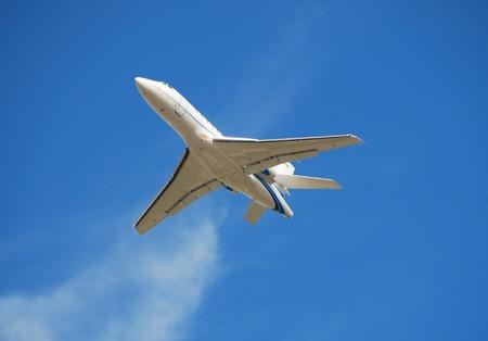 Business charter jet