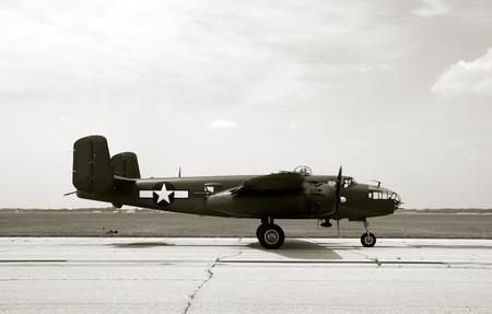 Wartime US bomber Stock Photo - 1720709