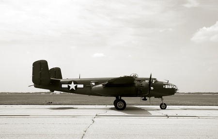 Wartime US bomber Stock Photo - 1720709