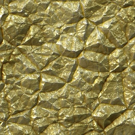 gold rush: Gold colored mineral rock