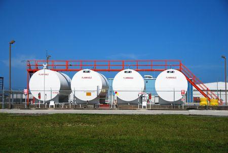 Aviation fuel depot