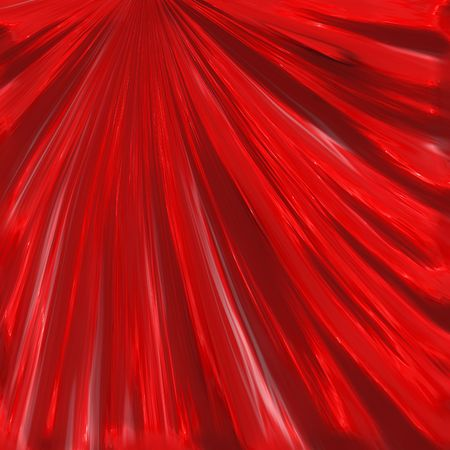 Background illustration of silky red theater curtains