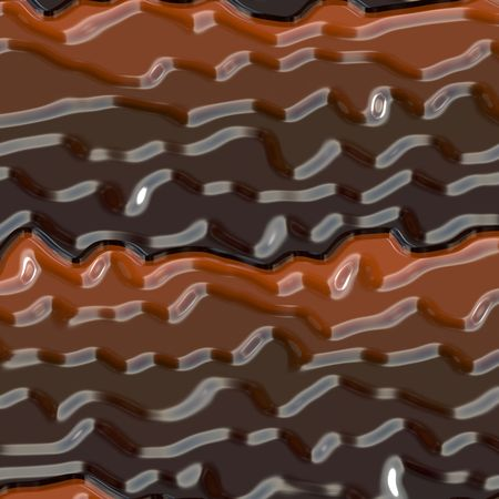 Illustration of gourmet chocolate bar Stock Photo
