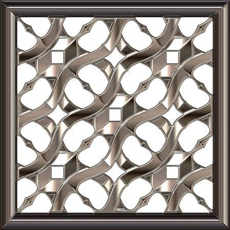 polished: Polished silver plate Stock Photo