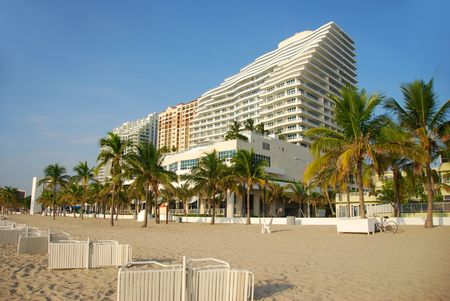 Beachfront timeshare apartments Editorial