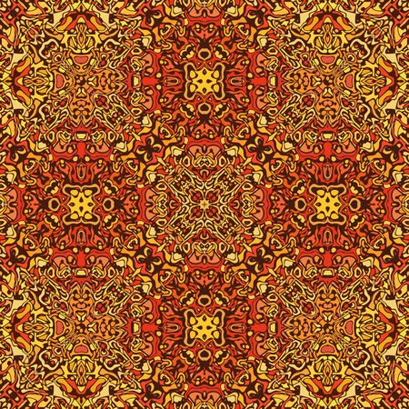 floor covering: Detail of ornamental floor covering Stock Photo