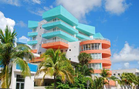 Art Deco style architecture Stock Photo