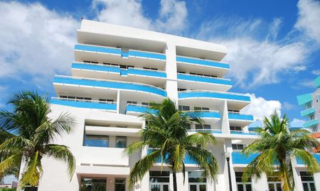 timeshare: Art Deco style architecture in Miami Beach Stock Photo