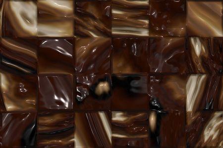 Chocolate bar closeup photo