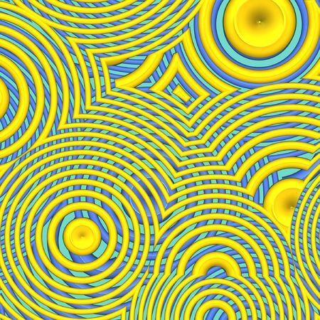 Abstract yellow circles for backgrounf