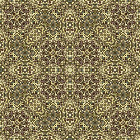 Intrecate carpet detail