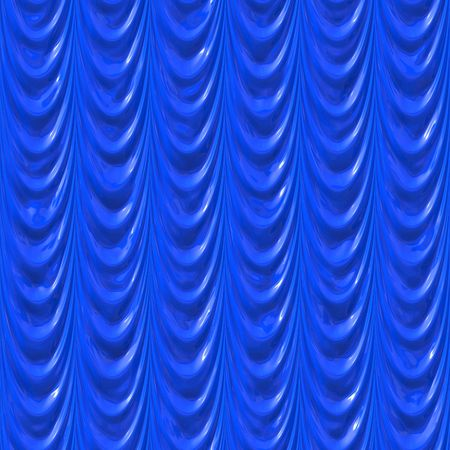 Wrinkled blue silk Stock Photo