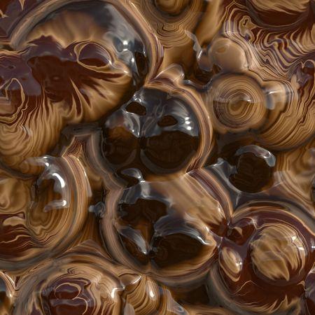 Melting chocolate for background photo