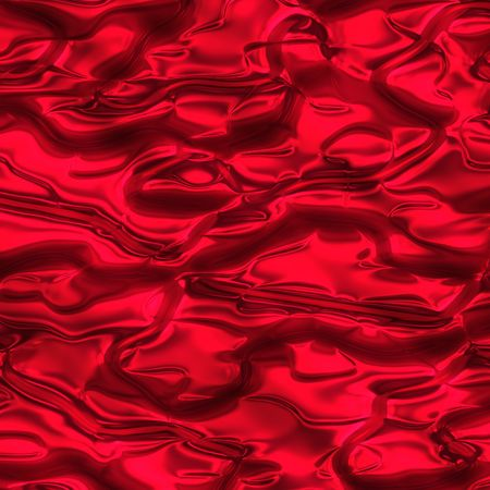 material: Dark red silky material Stock Photo