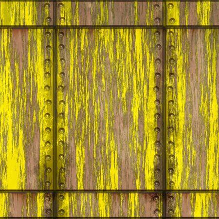 Industrial metal surface