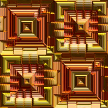 meta: Ornamental metallic surface Stock Photo