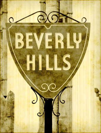 Vintage California landmark sign