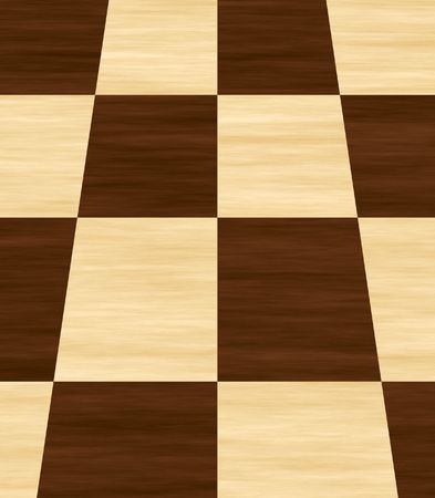 floor covering: Parquest floor covering in square pattern