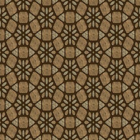 Brown pavement
