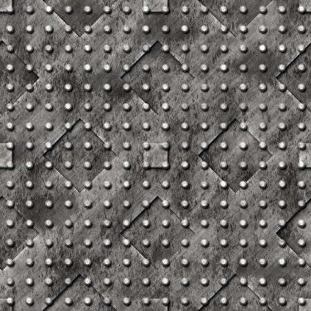 surface: Stamped heavy metal surface