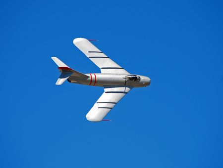 wartime: Old wartime jetfighter