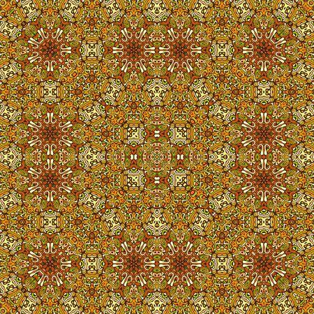 装飾的な床の敷物のコンピューター生成図