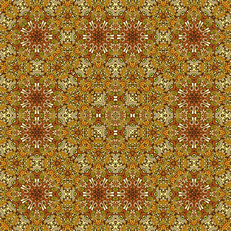 Computer generated illustration of decorative floor covering