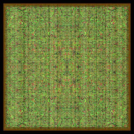 Decorative floor covering