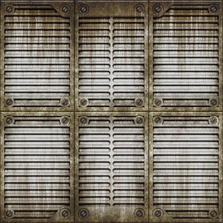 Metal window covering Stock Photo - 1876086