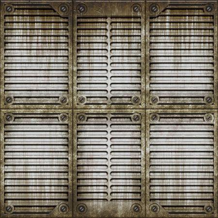 Metal window covering Stock Photo - 1876086