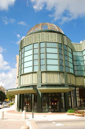 Entrance to upscale retail establishment Stock Photo - 1876079