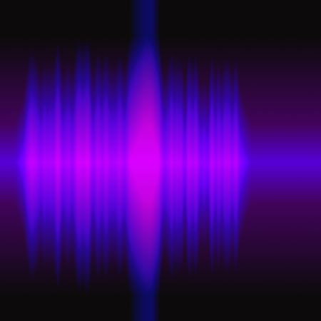 audiowave: Colorful radio waves