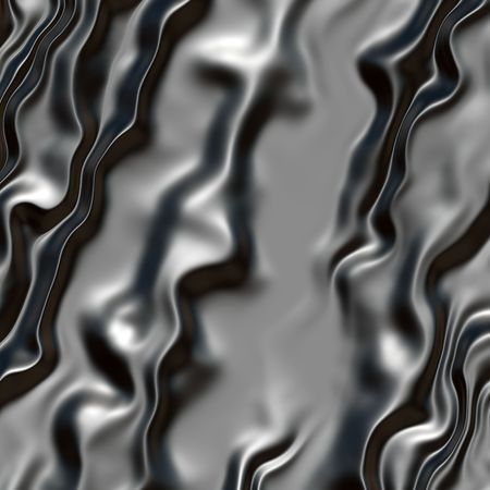 surface: Wrinkled metal surface