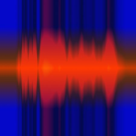 audiowave: Red frequency display