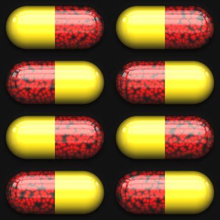Blister pack of pills Stock Photo - 1906190