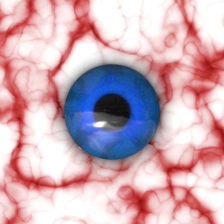Eyeball closeup photo