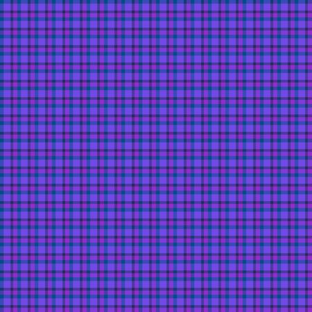 Blauwe tartan materiaal Stockfoto