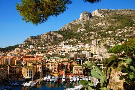 monte: Monte Carlo scenery Stock Photo