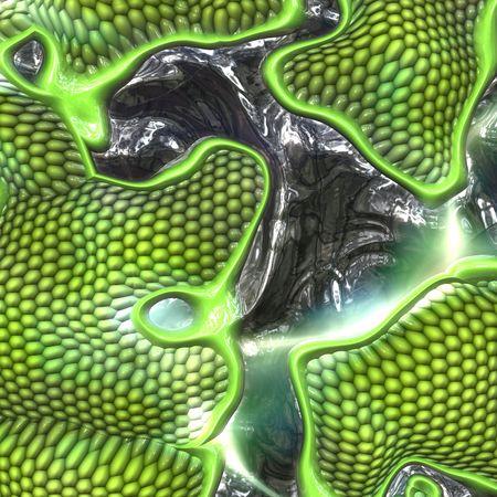 beenderige: Lizard huid