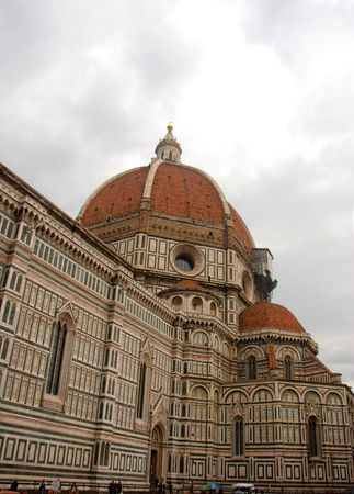Cathedral dome in Florence Italy