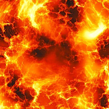 Fiery Explosion Standard-Bild - 2153134