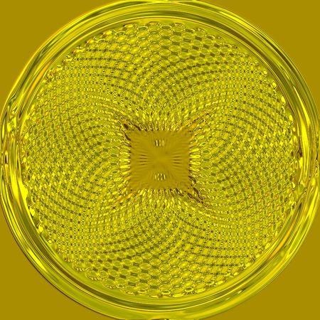 pendant: Golden pendant Stock Photo