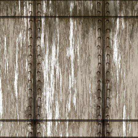 Old metal wall Stock Photo - 2182177