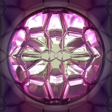 Purple gem closeup