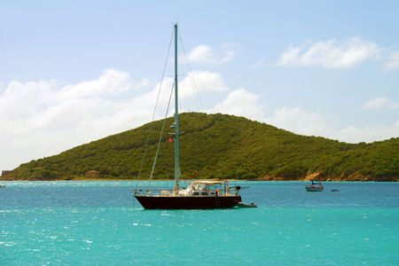 the virgin islands: Sailing in the US Virgin islands