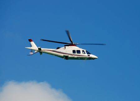 Modern charter helicopter