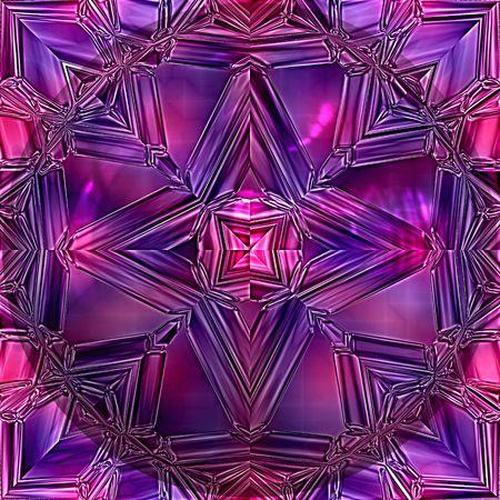 Closeup of purple precious stone