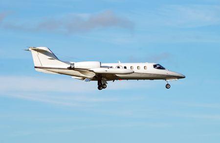 Business-Jet-Flugzeug Standard-Bild - 2336231