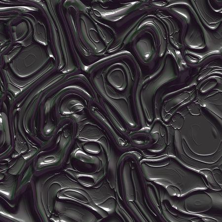 boiling: Melting black tar