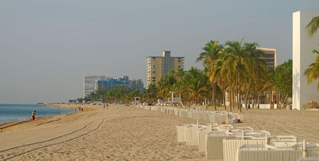 timeshare: Ft Lauderdale beach scenery